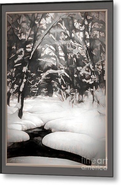 Warmth Of A Winter Day Metal Print