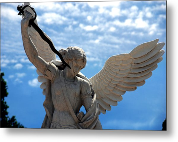 Warrior Angel Metal Print
