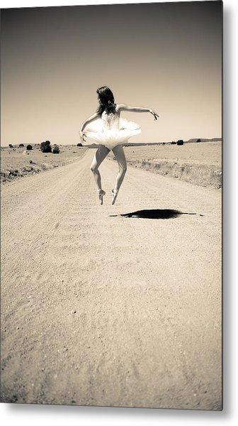 Washboard Ballet Metal Print