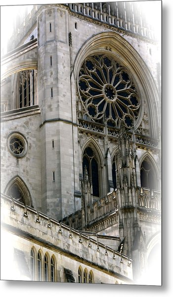 Washington Cathedral Metal Print by Charlie Parker