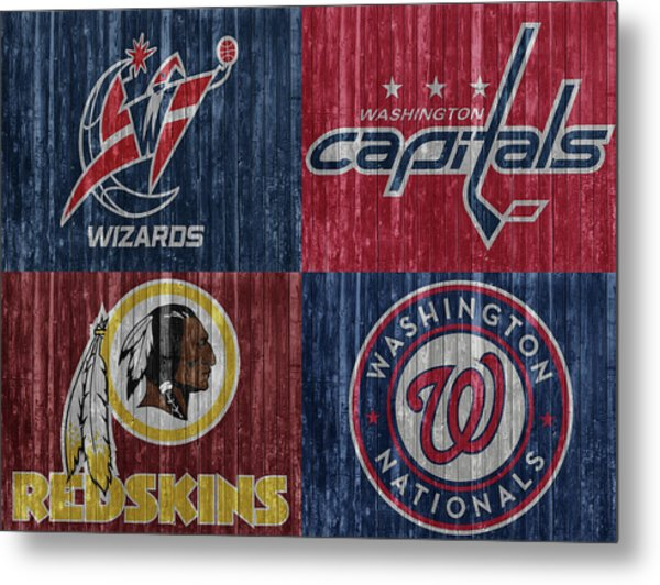 Washington Dc Sports Teams Metal Print