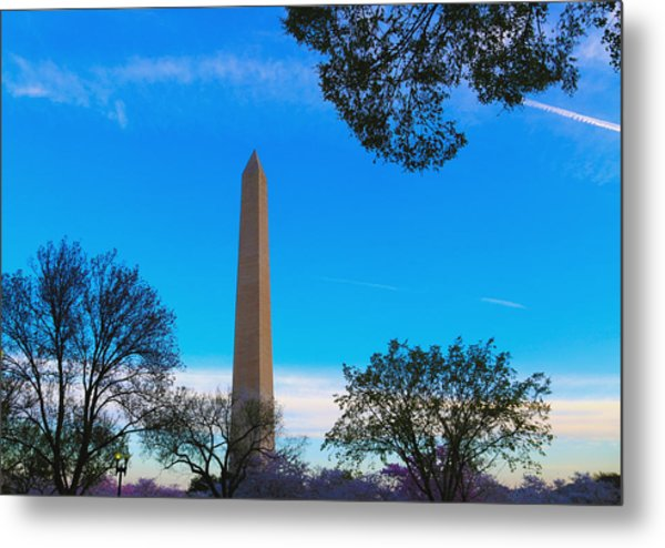 Washington Monument Metal Print by Heidi Pix
