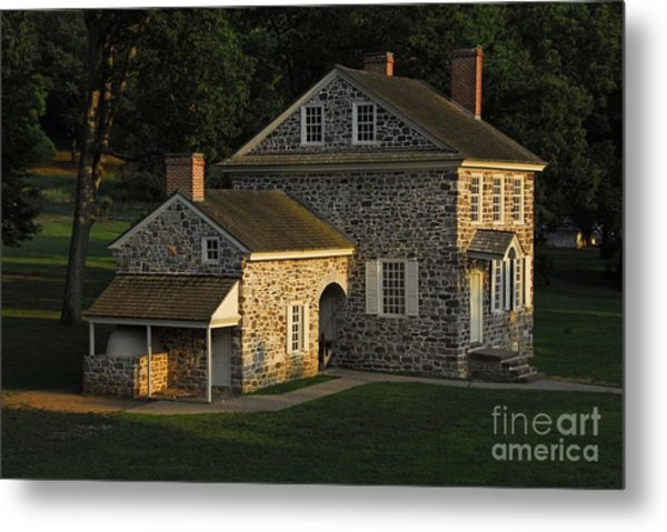 Washington's Headquarters At Valley Forge Metal Print