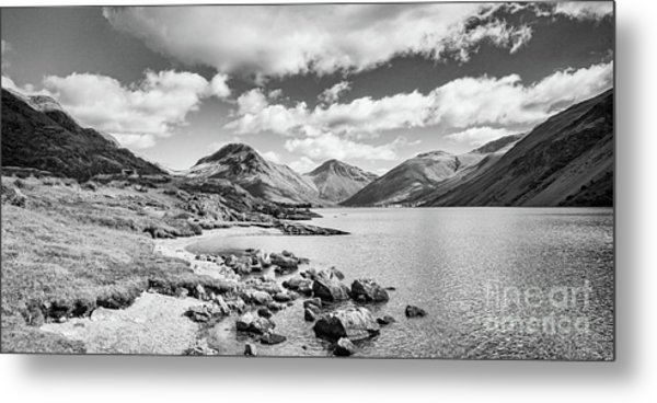 Wastwater And Wasdale Metal Print by Colin and Linda McKie