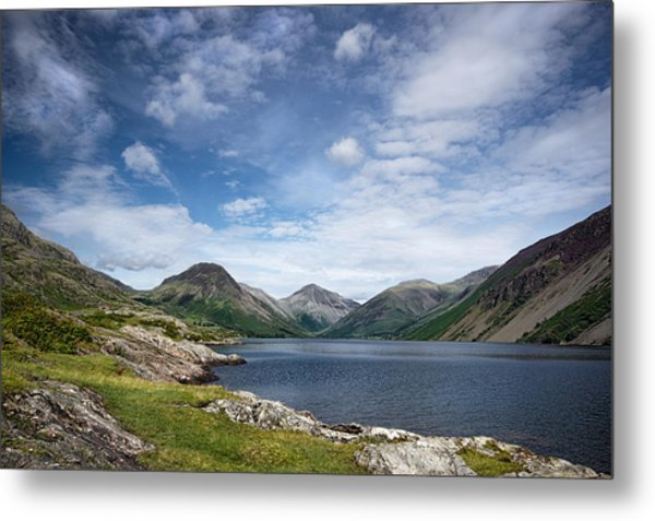 Wastwater Morning Metal Print
