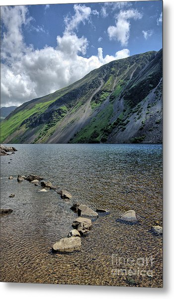 Wastwater Screes Metal Print