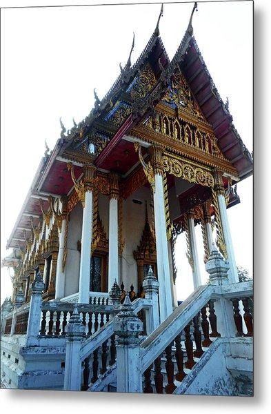 Wat Sawangfa 11 Metal Print