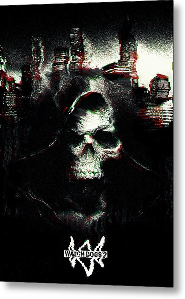 Watch Dogs 2 Metal Print
