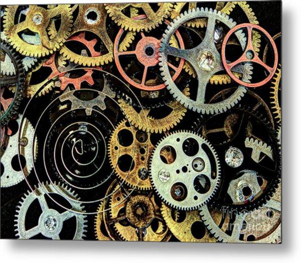 Watch Gears #1 Metal Print