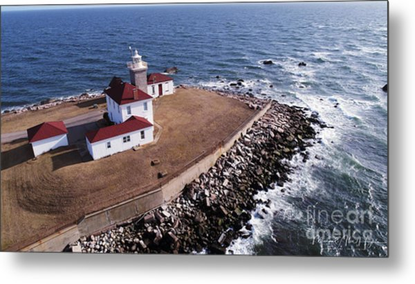 Watch Hill Lighhouse Metal Print