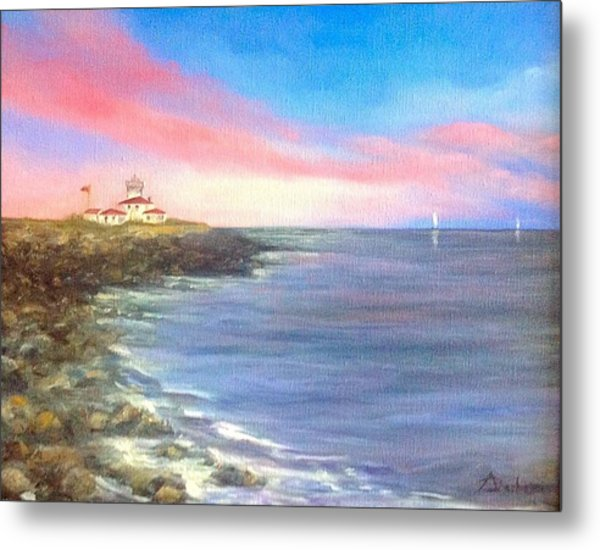 Watch Hill Light House Metal Print