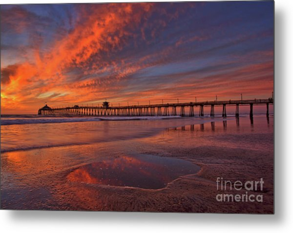 Watch More Sunsets Than Netflix Metal Print