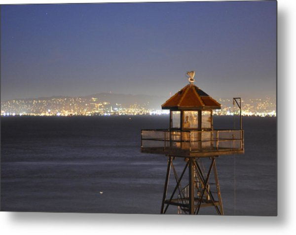 Watch Tower Of The West Metal Print by Greg McDonald