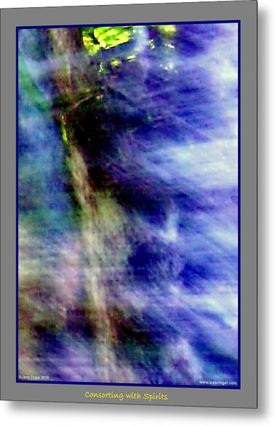 Watching From The Trees Metal Print by Jane Tripp