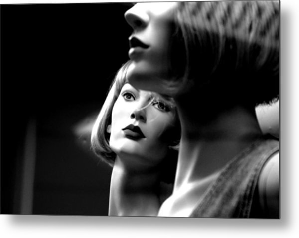 Watching The World Metal Print by Jez C Self