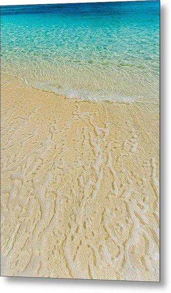 Water Abstract 1 Metal Print