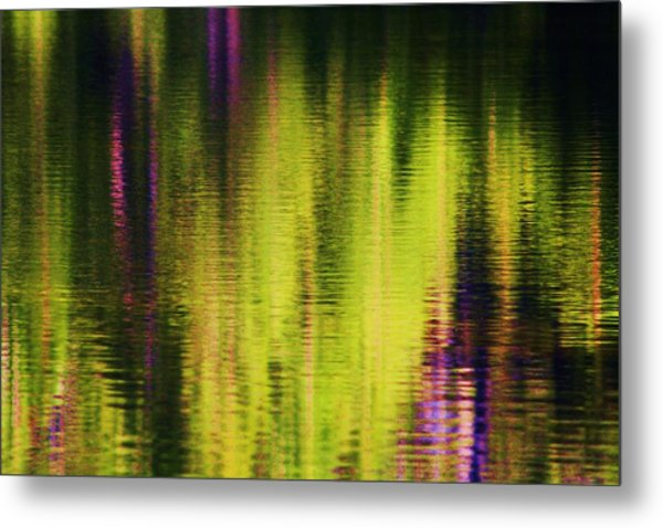 Water Abstract 3 Metal Print by Russell  Barton