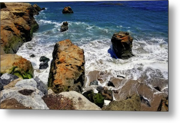 Water And Rocks Metal Print