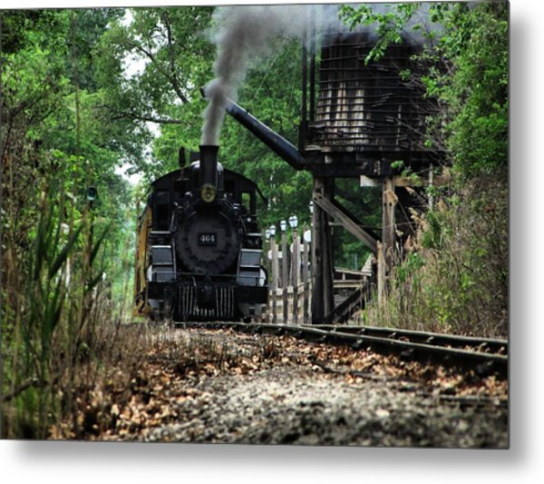 Water And Steam Metal Print by Scott Hovind