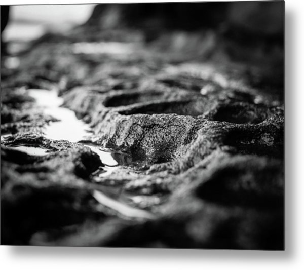 Water Carvings Metal Print