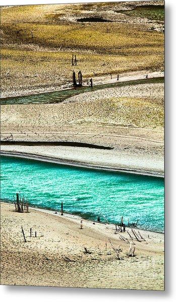 Water Edge 5 Metal Print by Emilio Lovisa