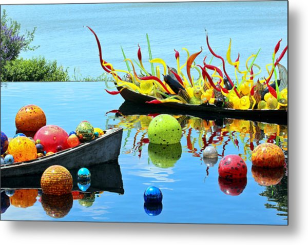 Water Joy Metal Print