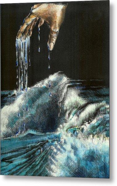 Water Metal Print by Kathleen Romana