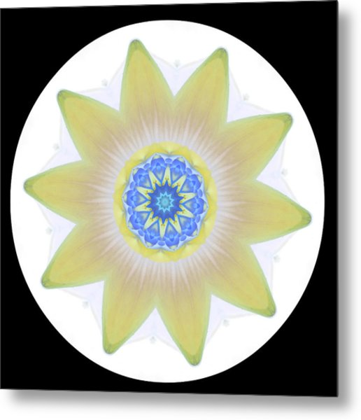 Water Lily Yellow Metal Print