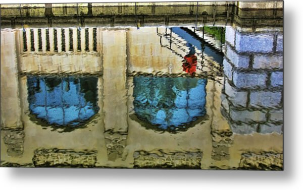 Water Reflections Metal Print