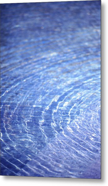 Water Ripple Metal Print by John Foxx