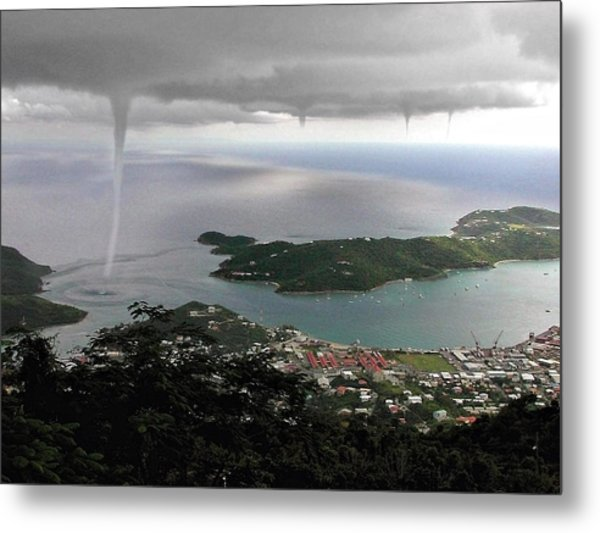 Water Spout Metal Print