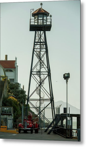 Water Tower Metal Print