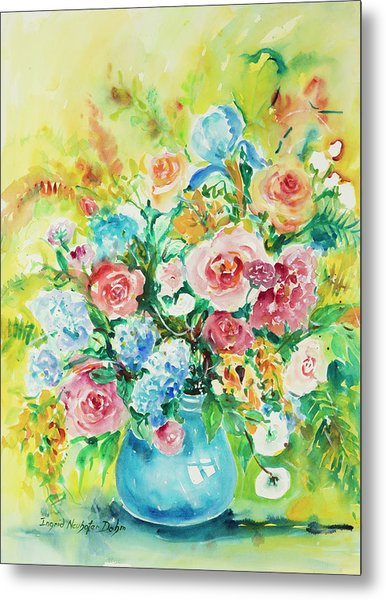 Watercolor Series 120 Metal Print