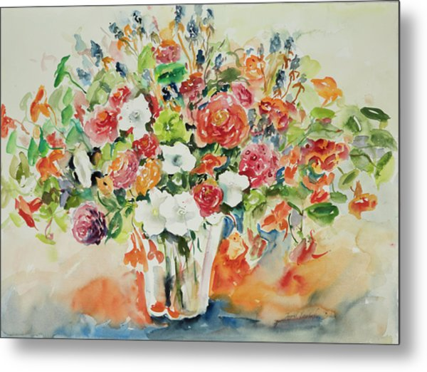 Watercolor Series 23 Metal Print