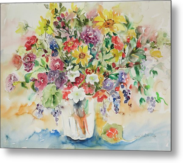 Watercolor Series 33 Metal Print