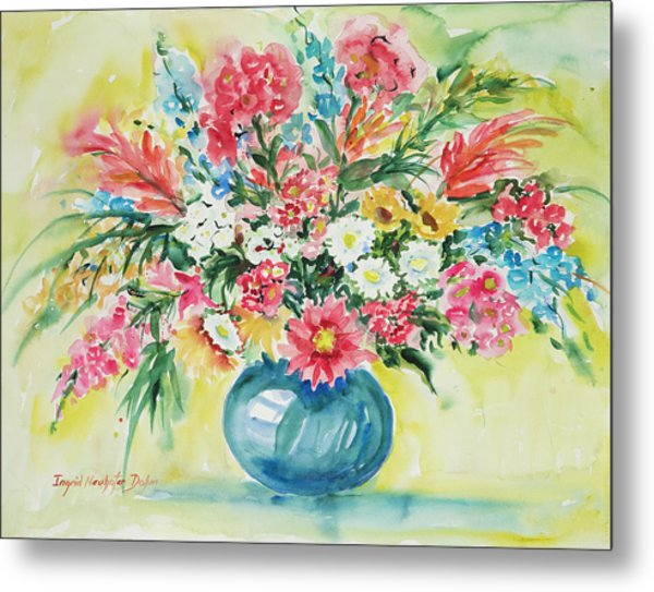 Watercolor Series 58 Metal Print
