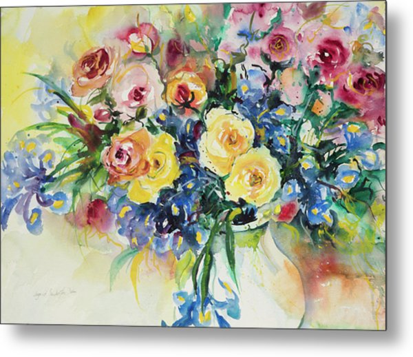 Watercolor Series 62 Metal Print
