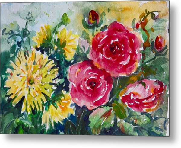 Watercolor Series No. 212 Metal Print