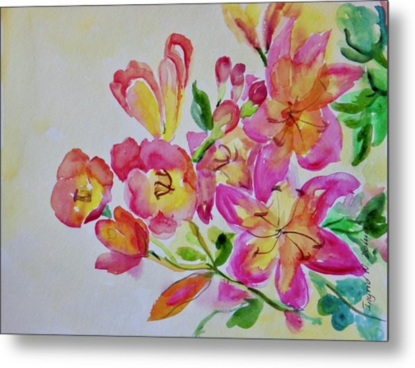 Watercolor Series No. 225 Metal Print