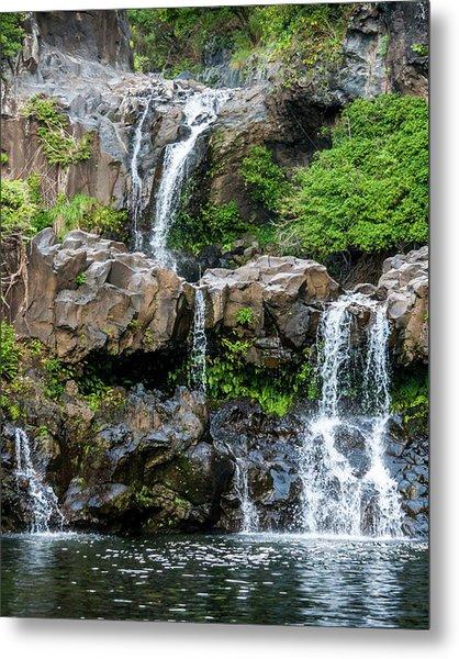 Waterfall Series Metal Print