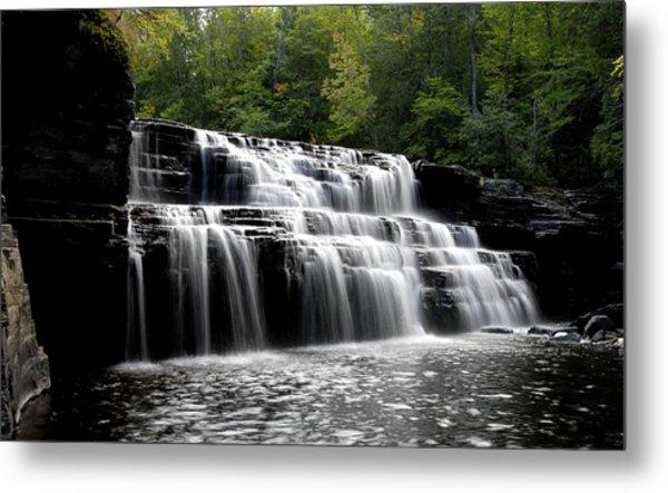 Waterfall 3 Metal Print