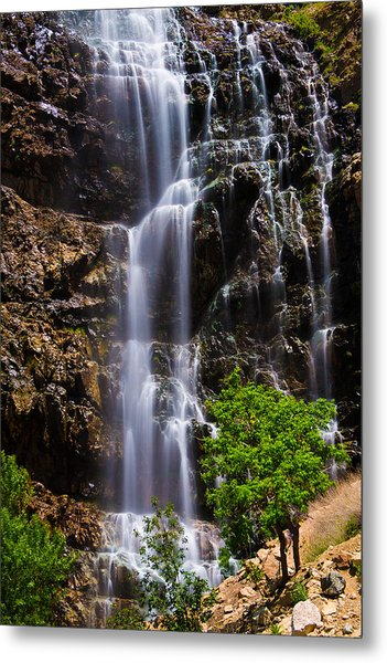 Waterfall Canyon Metal Print
