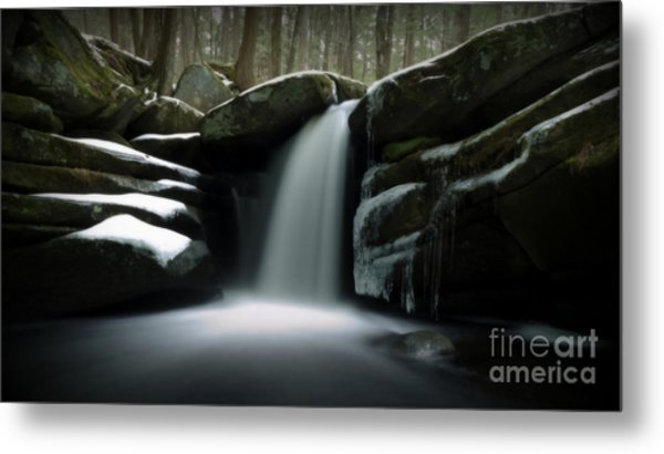 Waterfall From A Dream Metal Print