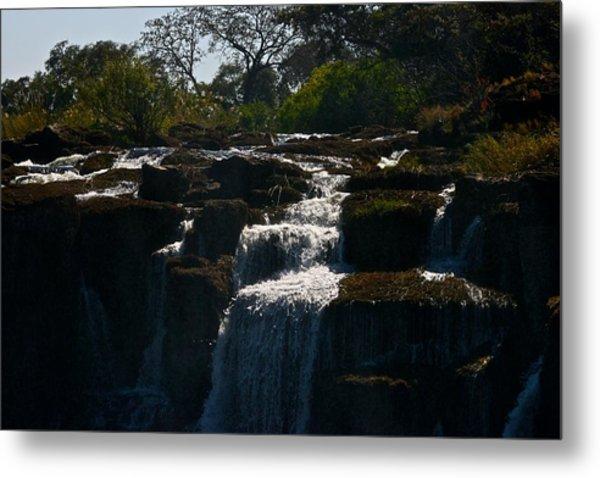 Waterfall Metal Print by Miranda  Miranda