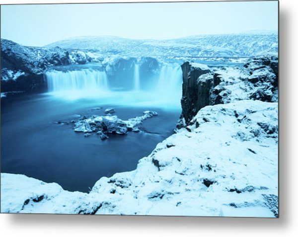 Waterfall Of The Gods Metal Print