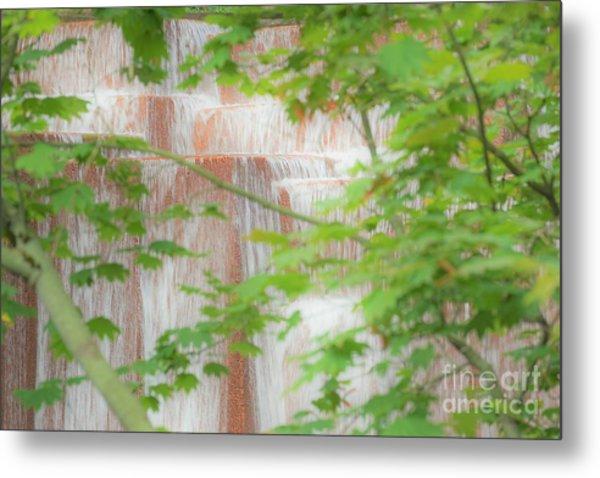 Waterfall, Portland Metal Print