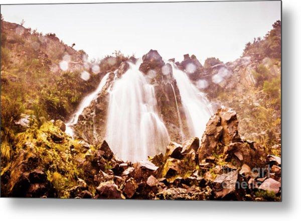Waterfall Scenics  Metal Print