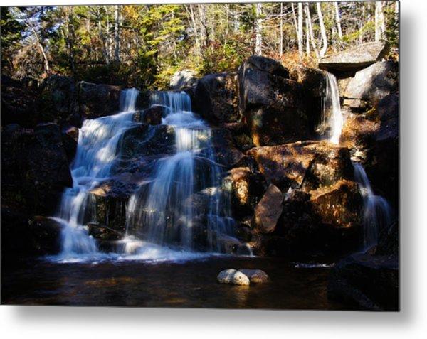 Waterfall, Whitewall Brook Metal Print