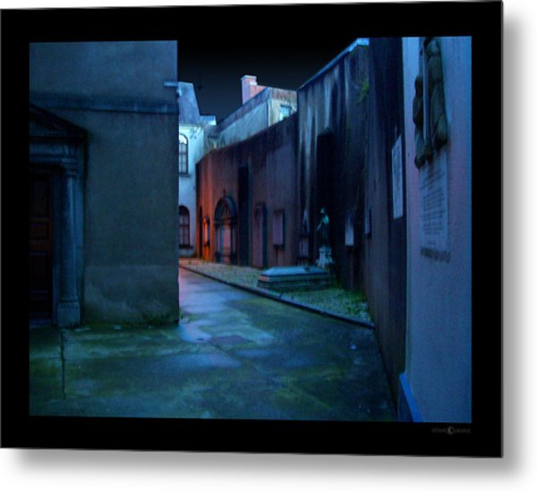 Waterford Alley Metal Print