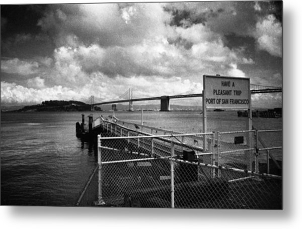 Waterfront San Francisco Metal Print